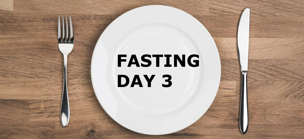Day 81 of 365 | The Carnivore Diet Experiment! Sea salt water flush+Fasting Day 3!