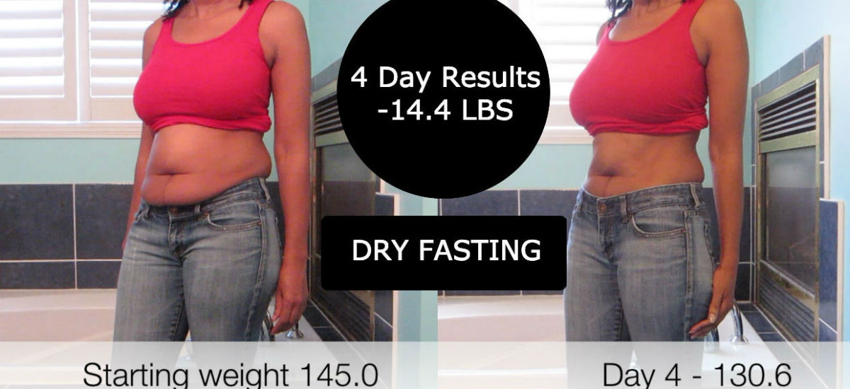 4 DAY DRY FAST (INSANE RESULTS) – Watch me shrink! – 14.4 POUNDS
