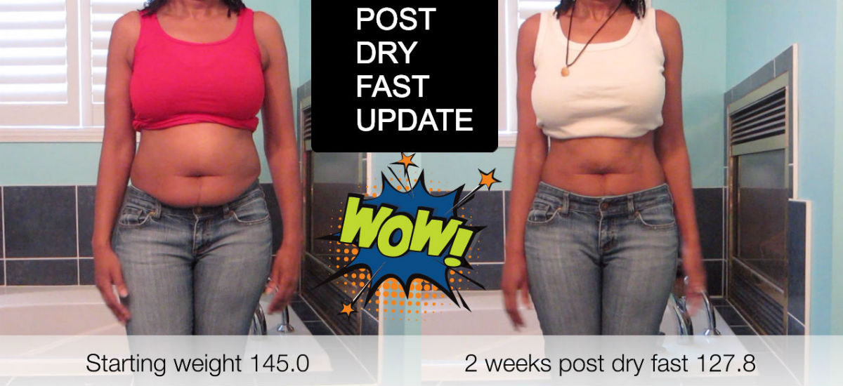 HOW TO NOT GAIN THE WEIGHT BACK AFTER A DRY FAST! | NO EXERCISE!