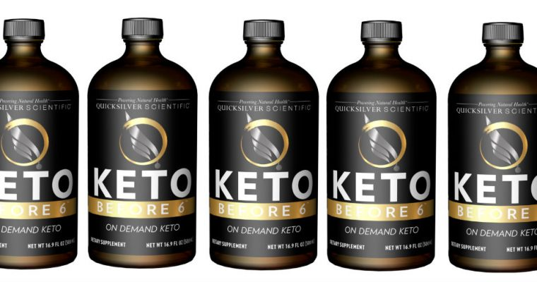 Quicksilver Scientific Keto Before 6 – Product Review!