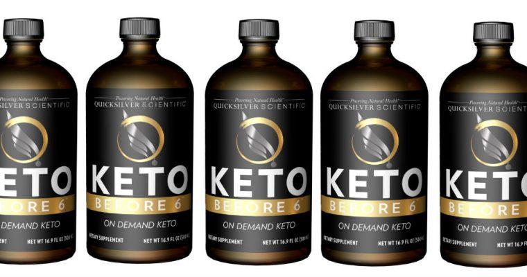 Quicksilver Scientific Keto Before 6 – Product Review!