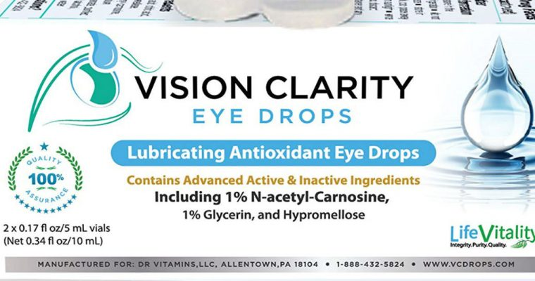 Best Eye Drops for Dry Eyes, Cataracts, Allergies – Vision Clarity Eye Drops!