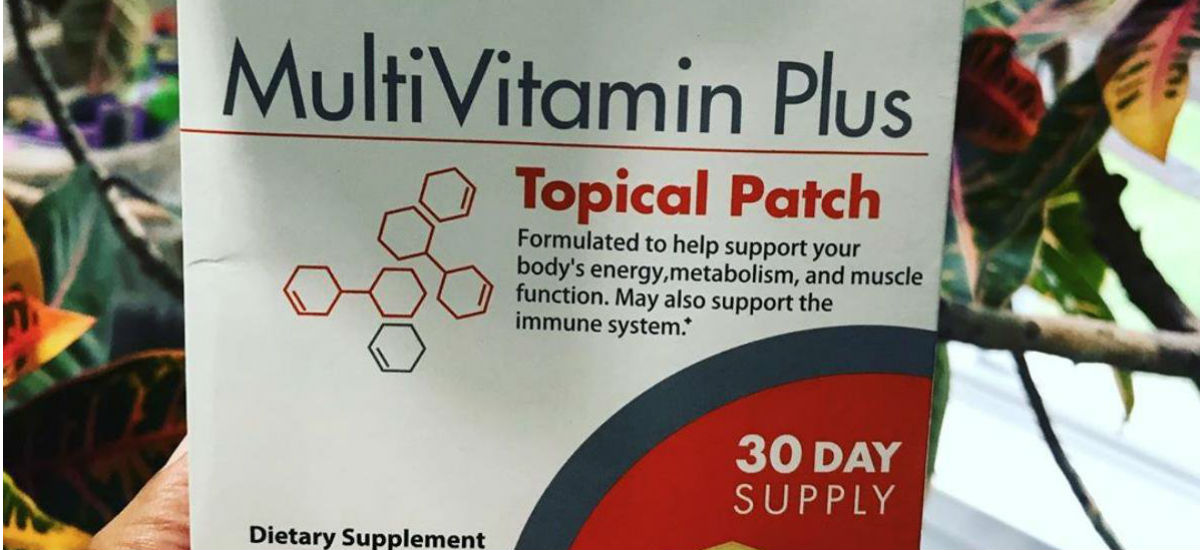 PatchMD Multivitamin – I use this while doing dry fasting! 😍