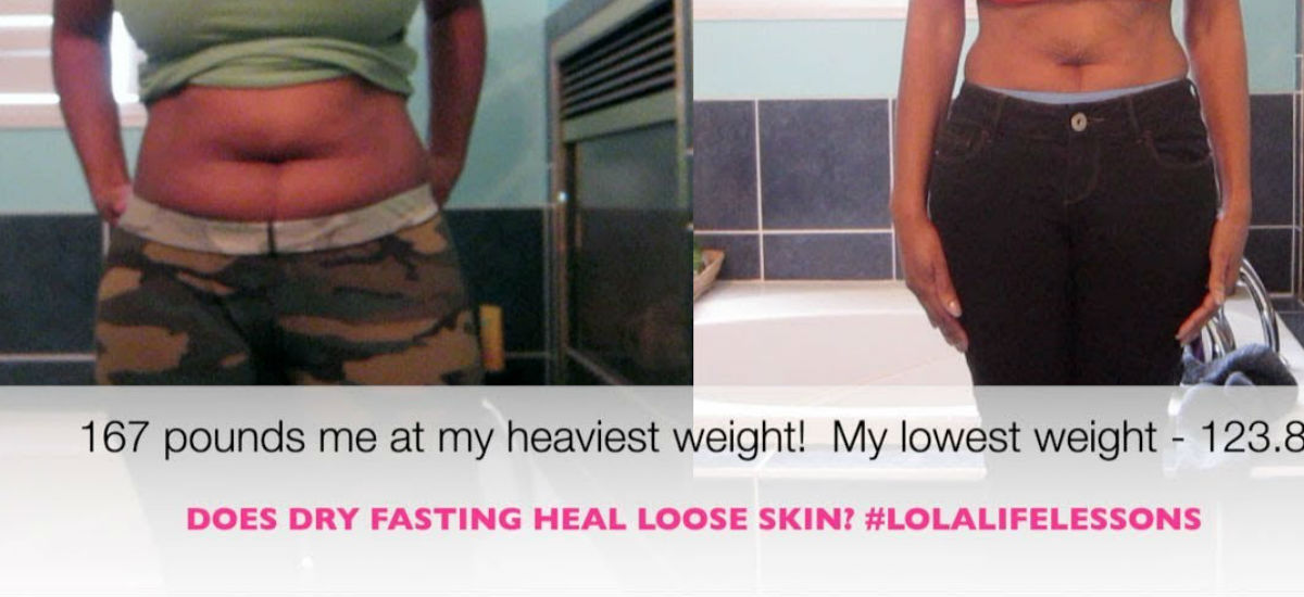 Does dry fasting heal loose skin?