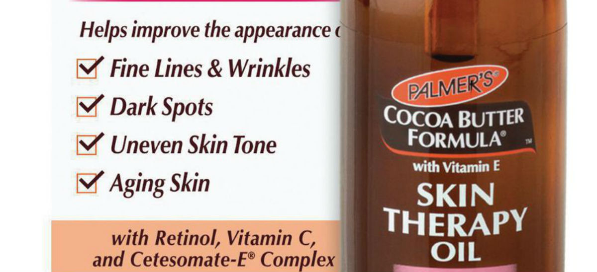 Palmer's Cocoa Butter Skin Therapy Oil Face: Review