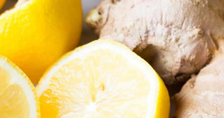 Lemon and Ginger Shots in Less than 2 mins! Boost the immune system!