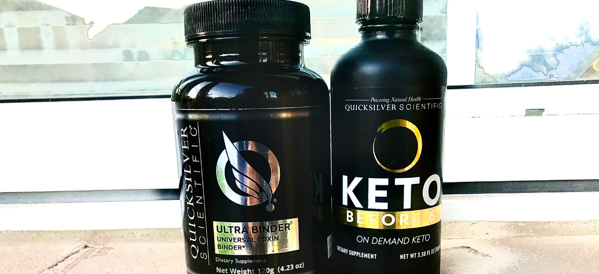 Quicksilver Scientific Ultra Binder and the Keto Before 6 for weight loss!